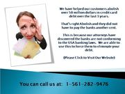 Un-Secured Loans? We Help